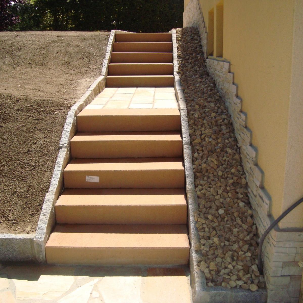 Nivelage et escalier neuf