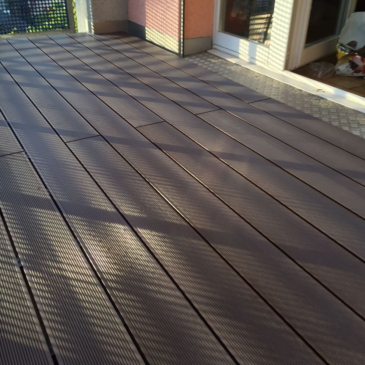 Terrasse planche en bois